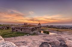 DSC_5029-5030-5031 Sunset Colours in Hampi (m_dey) Tags: sunset india karnataka hampi sigma1020mm sunsetcolours d7000 eveningcoours