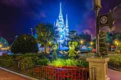 Dreamscape (Joe Barrett Photography) Tags: castle catchycolors orlando holidays florida disney dreamy waltdisneyworld magical magickingdom cinderellacastle catchycolorsgreen catchycolorsred catchycolorsblue catchycolorspurple dreamlights