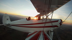 GOPR3471-1800 (arkley68) Tags: sunset sky sunlight tower fall grass night clouds airplane flying airport open control loop aircraft spin great lakes cockpit greatlakes landing roll inverted takeoff runway pilots biplane aerobatics hammerhead taxiing hangars 2t1a2 gopro
