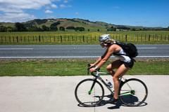 Te Awa Blur (ibikenz) Tags: bikepath waikato cyclepath roadbike karapiro teawa