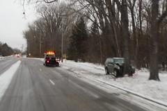 bad (Ruin Raider) Tags: winter snow ice minnesota smash crash accident slippery