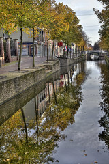 """Canal in Delft • <a style=""""font-size:0.8em;"""" href=""""http://www.flickr.com/photos/45090765@N05/15725570246/"""" target=""""_blank"""">View on Flickr</a>"""
