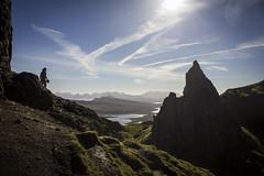 Adventurers of Storr (Chris Bis) Tags: voyage trip travel sea sky mer travelling stone island scotland soleil travels scenery isleofskye ecosse le ledeskye