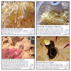 "I shared my favorite tips for making a flaky pie crust last week in the hopes that they would inspire a few of you to take the plunge and make a homemade pie.  How many of you made pie for your Thanksgiving feast last week? What kind did you make? • <a style=""font-size:0.8em;"" href=""http://www.flickr.com/photos/54958436@N05/15735441098/"" target=""_blank"">View on Flickr</a>"
