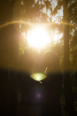 Darkest Light (WJGP) Tags: shadow prime engagement couple pentax space muslim islam 28mm marriage negative 28 vivitar