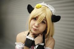Aiisaka Miharu (ekamil) Tags: anime cute cosplay f14 manga malaysia 5d waiters kawai sigma14