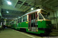 DSCN0776 (Maciej Szkudlarek) Tags: tram poland strassenbahn poznan tramwaj konstal 102na forteczna mpkpoznań