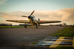 Hurricane Taxi (Scott Cartwright Photography) Tags: canon vintage aircraft aviation historic professionalphotographer hawkerhurricane canon5dmk3 scottcartwright shrewsburyphotographer sleapairfield shropshirephotographer shrewburyfreelancephotographer scottcartwrightphotography shropshirefreelancephotographer shrewsburyprofessionalphotographer