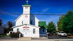 Sunday Morning in Delaware (clif_burns) Tags: churches rehobothbeach firstunitedmethodistchurch