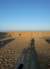 Bellaria (ilpiubello) Tags: sea italy beach bike bicycle cycling italia mare shadows mountainbike ombre spiaggia bicicletta rivieraadriatica pedalando bellaria photocycling smartphonecycling