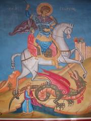 St George, Madaba (Aidan McRae Thomson) Tags: church jordan orthodox fresco madaba