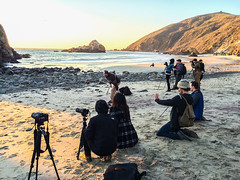 Getting the perfect shot (mojave955) Tags: california sunset usa america canon unitedstates unitedstatesofamerica bigsur westcoast pfeifferbeach   600d sunportal   keyholerock  eos600d rebelt3i
