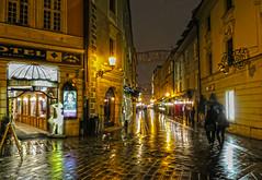 Night & Rain (Osdu) Tags: world street travel history tourism rain night europe slovakia bratislava nightfoto
