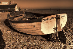 Charlotte`s wich (Andy Gant) Tags: uk light england bw beach boats suffolk flickr charlotte picture textures canoneos aldeburgh bwphotography beachscene bweffect canoneos550d