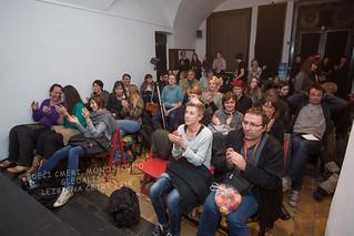 Otvoritev 3. festivala Lezbična Četrt 8. 12. 2014