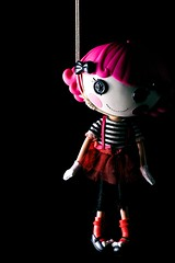 Hanged Doll (Jackobo) Tags: portrait doll rope hanging noose 50mmf17 lalaloopsy