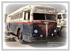 POST OFFICE BUS (NC Cigany) Tags: bus history museum virginia rust postoffice roanoke va transportation whitetrucks virginiamuseumoftransportation ca1941 postofficebus