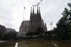 OOC - La Sagrada Famlia (Gaudi designed Church), Barcelona (LightNodes) Tags: barcelona travelling tourism lumix spain europe panasonic catalunya gx7 dmcgx7