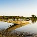 Activités du soir au bord du fleuve Niger