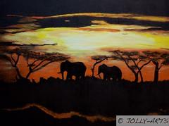28 - Les Élephants