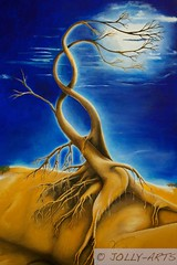 89 - Lebensbaum in blau