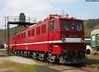 Electric brute (Schwanzus_Longus) Tags: railroad cars station electric train br flat dr steel pipes central tracks engine railway loco trains cable db east container german ddr locomotive bochum bahn freight gdr deutsche reichsbahn kabelcontainer