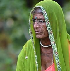 Beyond The Veil (Anshul Roy) Tags: street old grandma portrait people india nikon streetphotography oldlady oldpeople wrinkles humans gujarat daiict nikond3200 peoplephotography indianpeople incredibleindia d3200 wrinkledwoman gnadhinagar wrinkledperson