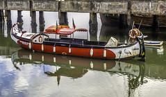 It's a - boat? (Tony Tomlin) Tags: portugal boat canoe portimao riverarade