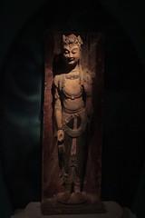 菩薩立像 statue of bodhisattva (asianfiercetiger) Tags: heritage statue museum hongkong buddhism exhibition 香港 bodhisattva dunhuang 敦煌 沙田 莫高窟 mogaocaves 文化博物館