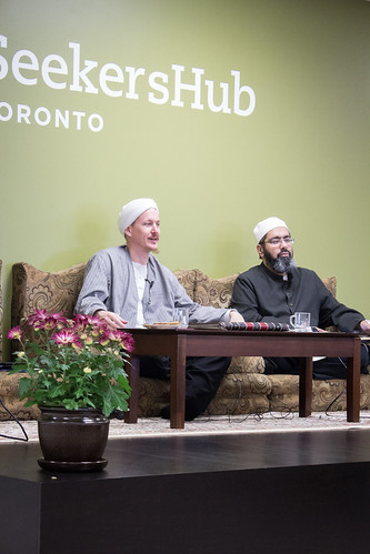 "Shaykh Yahya Rhodus at SeekersHub, Toronto and Seminar Series: Worship, Coffee and The Meaning of Life • <a style=""font-size:0.8em;"" href=""http://www.flickr.com/photos/88425658@N03/26567055220/"" target=""_blank"">View on Flickr</a>"