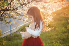 IMG_7224 (D-Ulia) Tags: city flowers sunset sun streets girl smile kids backlight fun spring twilight little blossom bokeh walk backlit walkaround bycicle