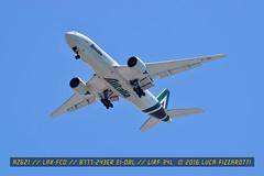 EI-DBL (luca.fizzarotti) Tags: airport aviation flight boeing alitalia fco b777 planespotter planespotters avgeek lirf