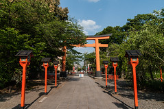Hirano shrine (TheSpaceWalker) Tags: japan temple photography japanese photo nikon kyoto shrine buddhism pic shinto jpn d300 hiranoshrine thespacewalker