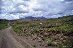Un santuario en el camino (pepelara56) Tags: patagonia camino nublado montaa montaas neuqun