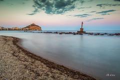 Atardecer en guilas (*Alphotos) Tags: playa murcia nd rocas larga exposicin alphotos guilas lucroit