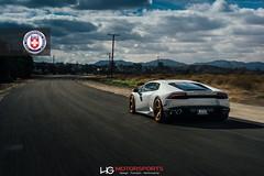 Lamborghini Huracan на дисках HRE Classic 305M