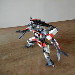 DSCN6747 (alfa145q_lego) Tags: lego legocreator vehicletransporter 31033 alternate futureflyers 31034 mecha rebuild
