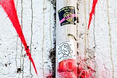 Roma. Ostiense. Street art-sticker art by Fishes Invasion and... (R come Rit@) Tags: urban italy streetart rome roma muro art wall photography graffiti stickerart italia arte contemporaryart label streetphotography wallart urbanart labels roadsign walls graff segnalistradali graffitiart muri trafficsignals signposts ostiense arteurbana stickerbomb graffitirome italystreetart streetartitaly romegraffiti graffitiroma slapart streetartrome streetartphotography romastreetart streetartroma romestreetart urbanartroma stickervandal ritarestifo signscommunication romeurbanart fishesinvasion