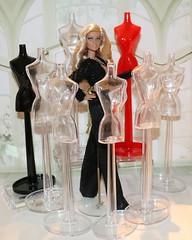 Barbie 1/6 Scale Dress Forms (JennFL2) Tags: adoption sale barbie dress forms mannequins store front display diorama dioramas dolls figures poppy parker color infusion monroe jillian integrity mattel