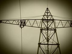 High Voltage (gittermasttyp2008) Tags: latticeclimbing latticetower latticekategorie leiterseile powertower powerpole power powerpylon strommast strommasten strom stahlgittermast stahl starkstrom stromleitung stahlmast spatziergang sky