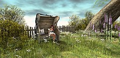 Love in the woods .. (zaziaa resident) Tags: love home nature garden bench couple mesh pg goose pillow single simple deco sim banc wook coussin adulte lostdream tyrek