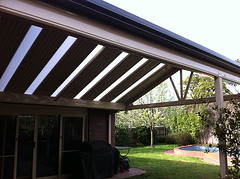 Stratco outback sunroof (modernsolutionsau) Tags: outback pergola stratco