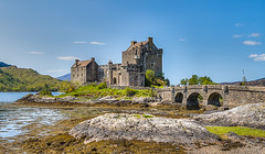 Eilean Donan Castle (jaumedarenys) Tags: castle scotland highlands hdr maig 2016 castells eileandonancastle kyleoflochalsh eos7d duichlake