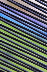 experiment I (neongelbschwarz) Tags: diagonal muster abstrakt linien textur