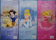 2016 Disney Princess Classic 12'' Dolls - US Disney Store Purchase - Boxed - Stacked - Snow White, Cinderella, Aurora - Rear View (drj1828) Tags: us doll release aurora cinderella boxed snowwhite purchase disneystore 12inch 2016 classicprincessdollcollection
