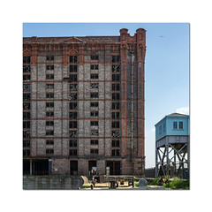 A bit of this and a bit of that (hehaden) Tags: building architecture liverpool docks square waterfront tobaccowarehouse basculebridge stanleydock