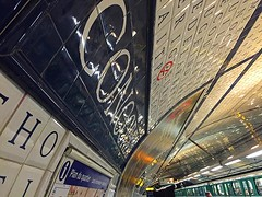 Concorde Arch (AntyDiluvian) Tags: trip paris france station subway arch metro platform arc ceiling concorde arched 2015 line1