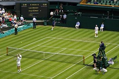 Andy Murray vs Liam Broady (gooey_lewy) Tags: two england london andy up club court championship slam warm day all britain stadium centre united year great lawn champion first kingdom grand tennis liam round winner gb match block vs championships matches wimbledon murray 130 croquet association 509 murrey aeltc 130th broady