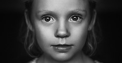 Sue (Damian Pirko) Tags: portrait bw child