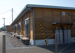 Temporary housing occupied by those displaced by the tsunami, Fukushima prefecture, Tomioka, Japan (Eric Lafforgue) Tags: house home ecology japan horizontal night danger outdoors unsafe dangerous earthquake construction energy asia risk homeless environmental radiation nobody nopeople forbidden tsunami pollution disaster housing environment radioactive shack radioactivity shelter emergency temporary atomic fukushima hazard recovery atom victims catastrophe exclusion contamination contaminated daiichi tomioka 0people nuclearaccident fukushimaprefecture irradiate colourpicture nuclearindustry fukushimaexplosion japan161834